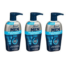 3 Pack - Nair Men Hair Removal Body Cream 13 oz (368 g) Each