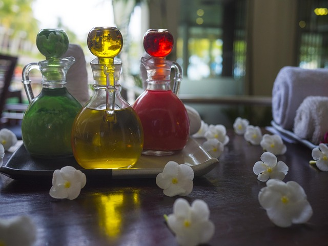 essential oil, spa, treatment
