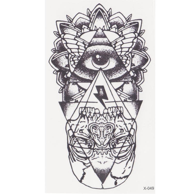 new eye of God Temporary Tattoo Sticker totem tatoo body art Waterproof fake tattoo God' s eye flash tattoos for woman men henna