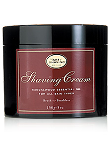 The Art Of Shaving - Shaving Cream With Sandalwood Essential Oil
