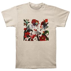 Washed Out Men's Paracosm Slim Fit T-shirt Small Cream