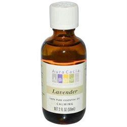 Aura Cacia Pure Essential Oil Lavender - 2 fl oz