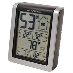 Chaney 00613 Indoor Thermometer with Humidity