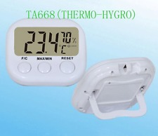 Digital LCD Thermometer INDOOR Hygrometer Meter Gauge Temperature Humidity NEW