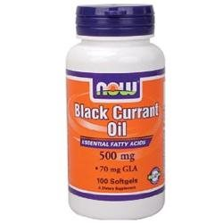 Now Foods: Black Currant Oil Essential Fatty Acids 500 mg, 100 sgels