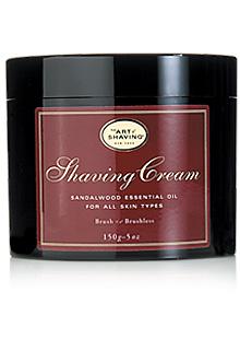 The Art Of Shaving - Shaving Cream With Sandalwood Essential Oil