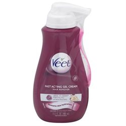 Veet Hair Removal Gel Cream, Suprem'Essence Pump, Velvet Rose Fragrance and Essential Oils 13.5 fl o