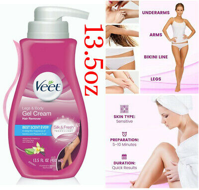 13.5 Oz VEET Hair Removal Sensitive Moisturizing Men Women Cream Gel Depilatory