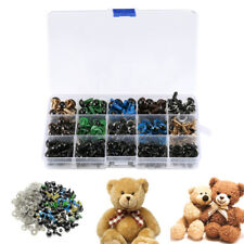 264PCS Safety Eyes 6-12mm Colorful Teddy Bear Doll Animal Crafts Toy Making US