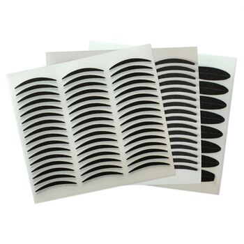 288 pcs/lot Thick and Thin Black Stripe Makeup Eyeliner Eyelid Tape Stickers for Making The Eyes Bigger with Eye Shadow