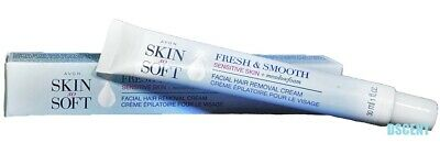 Skin So Soft Fresh & Smooth Sensitive Skin Facial Hair Removal Cream 1 fl oz