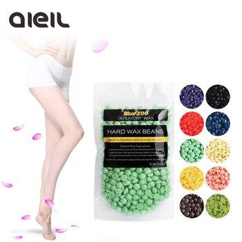100g Hair removal cream Hair Removal Beans Epilator 10 Flavour No Strip Depilatory Hot Film Hard Wax Pellet Waxing Bikini