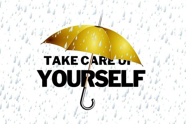 self care, umbrella, protection