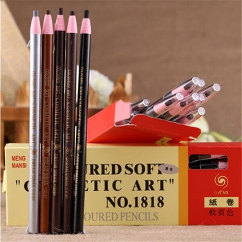 1 pcs Eyebrow Pencil Waterproof Eye Pen Natural Eyebrow Enhancer Beauty Cosmetics Make Up Tool