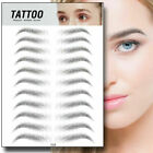 11 Pairs Eyebrow Sticker Tattoo Waterproof Lasting Makeup US