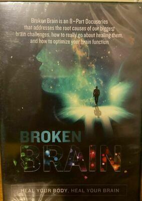 Broken Brain: 8 Part Docuseries Mark Hyman MD NIB DVDs
