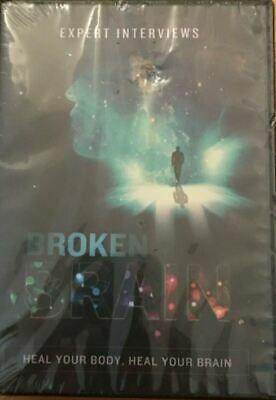 Broken Brain: Transcripts Expert Interviews Mark Hyman MD NIB DVDs