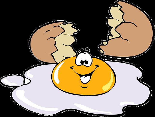 egg, smiling, smile