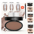 Eyebrow Stamp Powder Natural Delicate Shape Eye Makeup Waterproof Mirror Gel