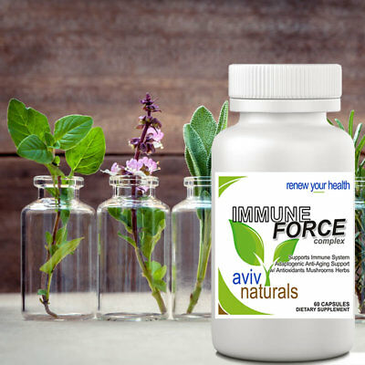 IMMUNE FORCE Complex Boost STRONG Natural System Health Support Capsule REVIEWS