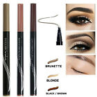 Microblading Tattoo Eyebrow Ink Pen Long Lasting 3D Fork Waterproof Pencil Brow