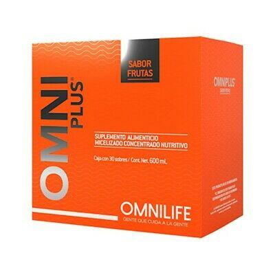 OMNIPLUS fruit flavor boost your immune system, fortalece vias respiratorias 30