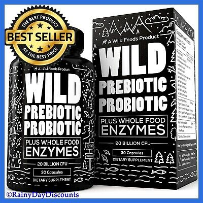 Prebiotic + Probiotic Digestive Enzyme Supplement For Gas, Bloating, Diarrhea