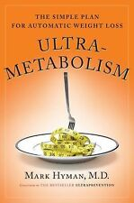 Ultra Metabolism By Mark Hyman MD (Hardcover 2006) Book FREE US SHIPPING!