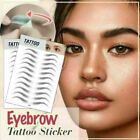 US 4D Hair-like Stick-On Authentic Eyebrows Waterproof Eyebrow Tattoo Sticker