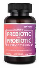 Women's Probiotic & Prebiotic Supplement with Cranberry – 35 Billion CFU